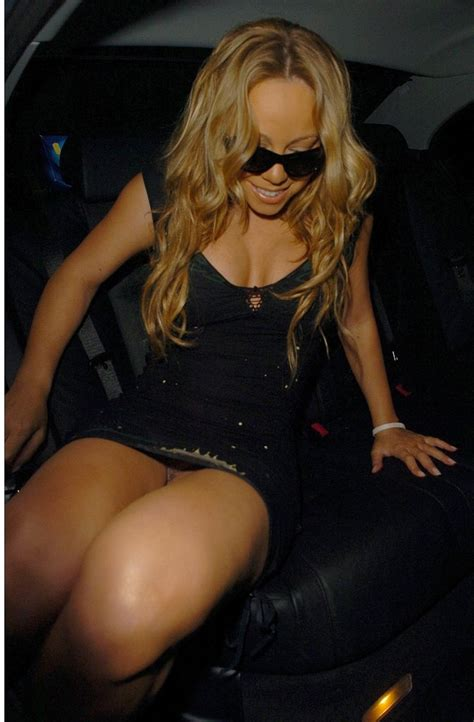 Archives paparazzi oops: Mariah Carey sans culotte
