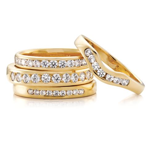 Wedding Ring Rule Of Thumb by Diamonds In Your Wedding Band Is There Such A Thing As