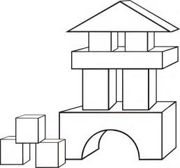 coloring pages of baby blocks download