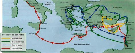 cuarto viaje misionero de pablo mapa asociaci 243 n b 237 blica san pablo de valencia san pablo que