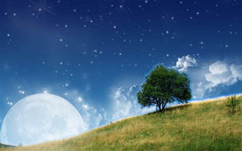 background themes of nature wallpapers moon nature wallpapers