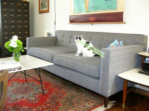 mid century modern living room furniture mid century modern tweed sofa couch the sofa company