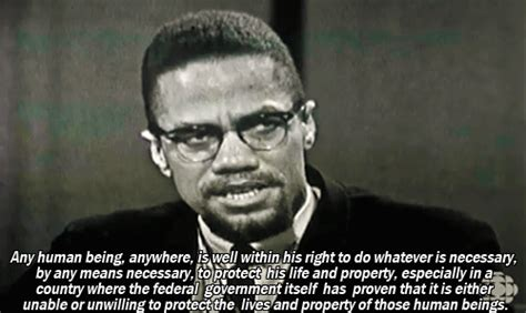 Malcolm X Memes - inspirational quotes revolutionary malcolm x any means