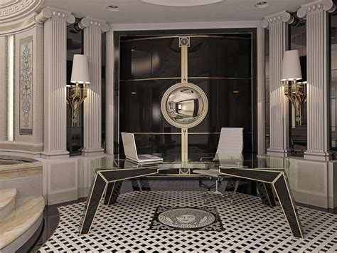 interior and files versace home