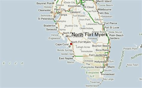 fort myers florida map fort myers location guide