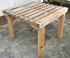 pallet tisch shabby pallet table