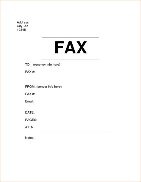 exle of fax cover letter 6 fax cover sheet format authorizationletters org