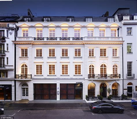 Unusual Floor Plans For Houses Mayfair Penthouse On Sale For 163 30million Comes With Its Own Brochure Daily Mail Online