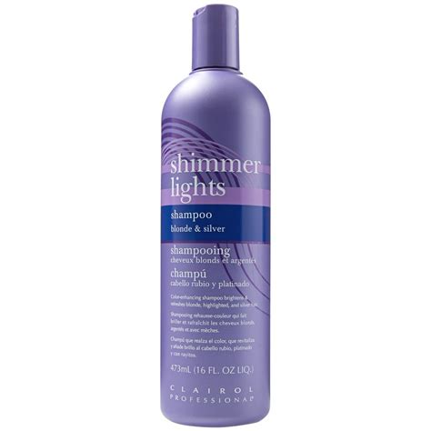woman who hasnt used shoo or conditioner in a year loves her clairol shimmer lights original conditioning shoo for