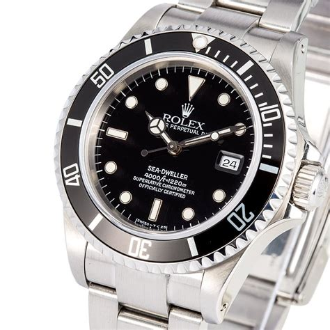 rolex dive watches rolex oyster sea dweller 16600 dive