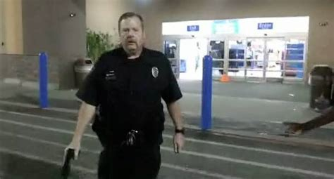 aggravated walmart security officer pulls taser rtm