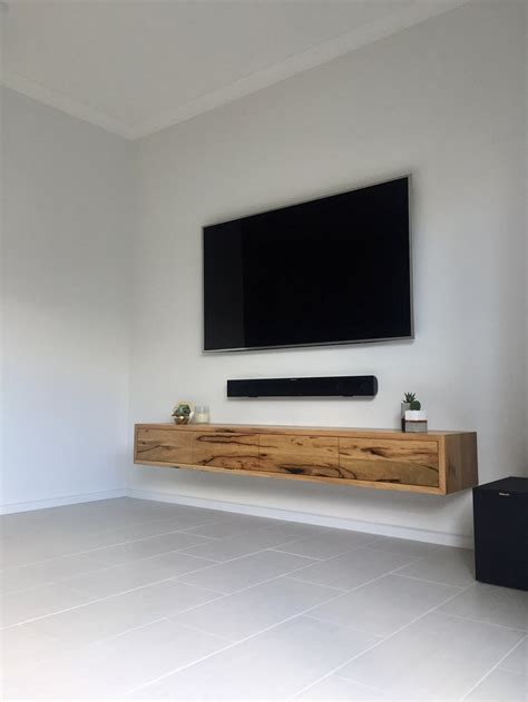 wood tv stand wall unit designs newhairstylesformen2014 com 10 credenzas to compliment your mounted tv