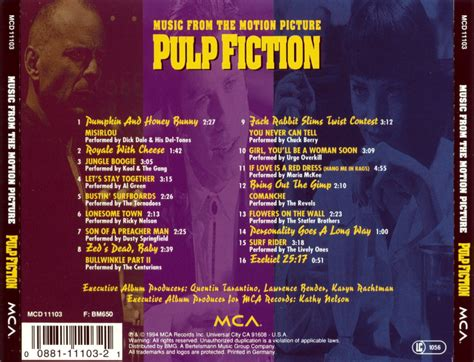pulp fiction soundtrack how misirlou became pulp fiction and quentin tarantino s