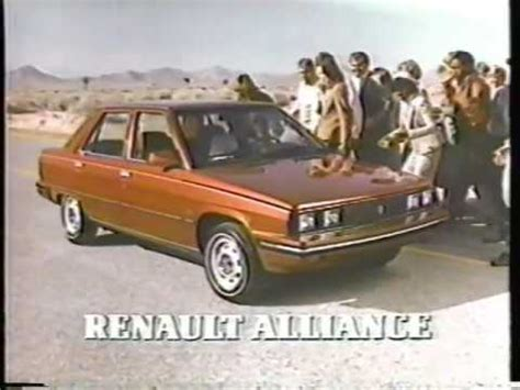 1983 renault alliance amc renault alliance road to usa 2 1983