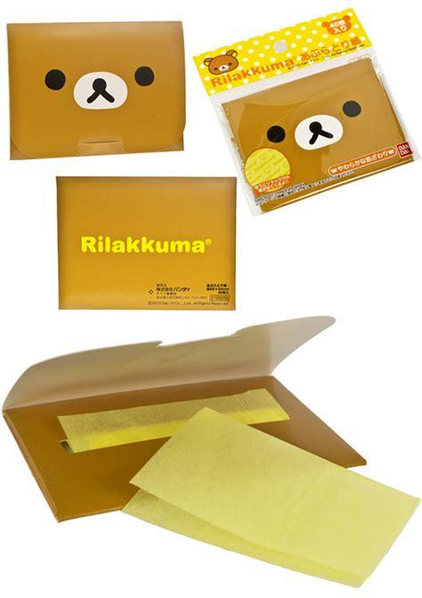 Byou Blotting Paper Kertas Minyak Untuk Wajah kertas minyak wajah rilakkuma isi 40 pcs kadounik belanja
