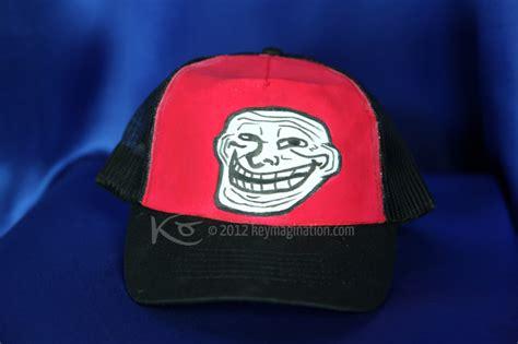 Meme Caps - meme baseball cap trollface by keymagination on deviantart
