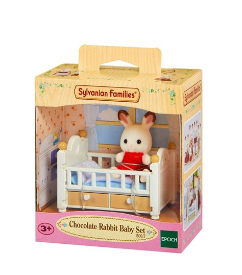 Baby Set sylvanian families figure furniture set 5017 chocolate