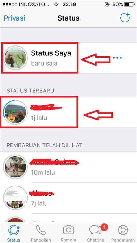 cara membuat status facebook via iphone cara membuat whatsapp stories status di whatsapp lewat