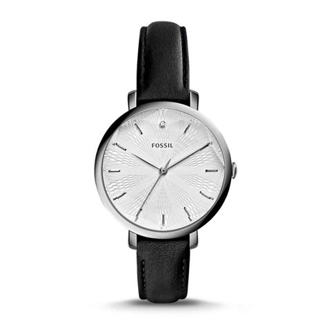 incandesa black leather fossil