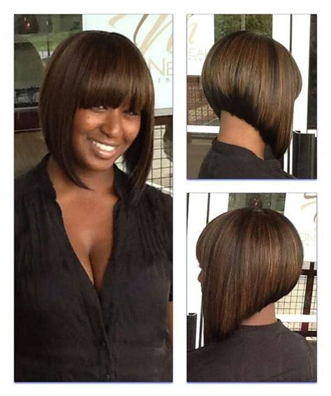 sew in weave short hair atlanta full bang short straight bob hairstyle synthetic capless