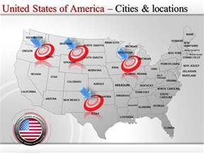united states powerpoint template 27 best images about interactive powerpoint maps of usa on