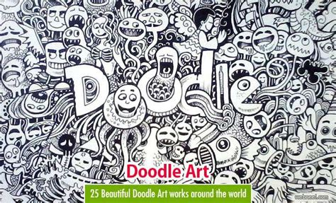 25 Beautiful Doodle Works Around The World