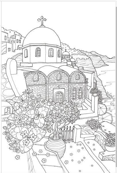 Greece Travel Coloring Book 292 best images about colouring sheets aka johanna