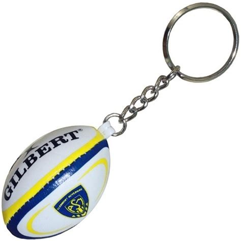 porte clef clermont rugby auvergne gilbert boutique