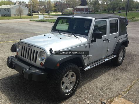 2008 Jeep Wrangler Bumper 2008 Jeep Wrangler Unlimited X Lift Kit Upgraded Steel