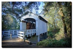Cottage Grove Covered Bridge Tour Route by The Cottage Grove Covered Bridge Drive In Oregon Is