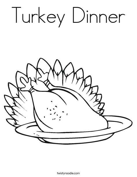coloring pages turkey dinner turkey dinner coloring page twisty noodle