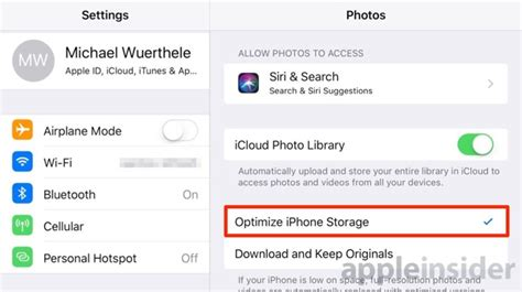 optimize iphone storage how to free up space on your iphone in ios 11 without