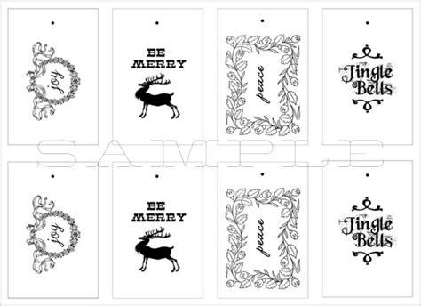 free printable christmas tags black and white christmas gift tags printable live laugh rowe