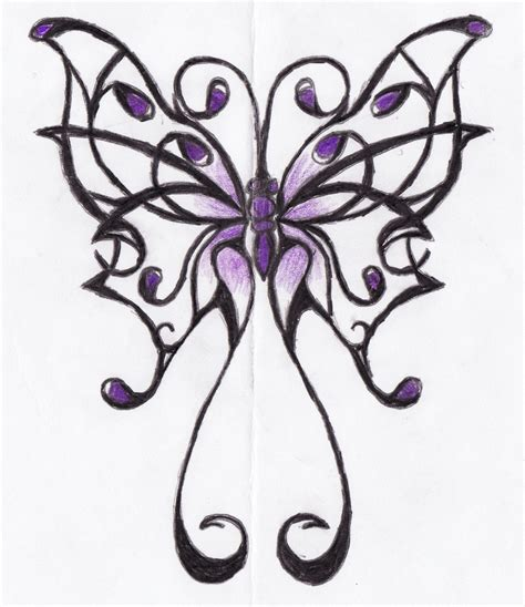 fibromyalgia purple butterfly ribbons pinterest