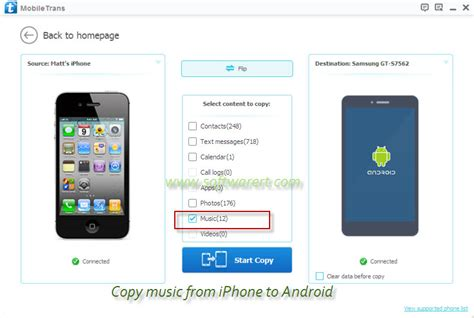 android to iphone how to transfer from iphone to android
