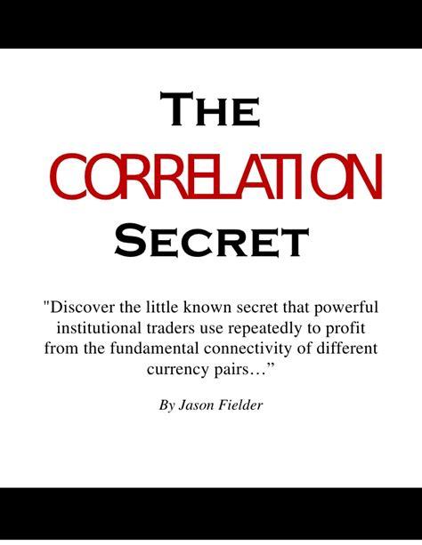 forex pairs correlation table correlation secret