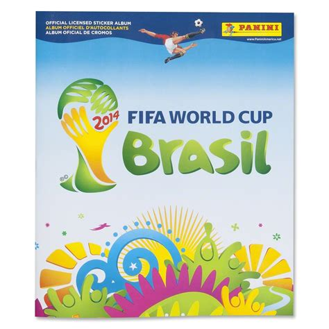 Buku 2014 Fifa World Cup Brazil Official Book 2014 fifa world cup panini sticker album the official