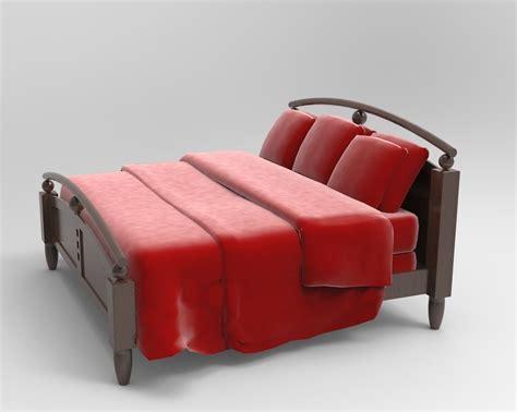 sofia bed bed sofia 3d model max 3ds dwg cgtrader com