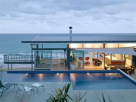 modern beach house post the most expensive house in your town page 3