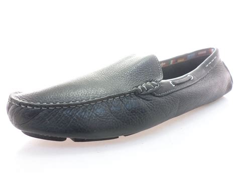 14th and union loafers 14th and union m27209 1 lea mens loafers black leather