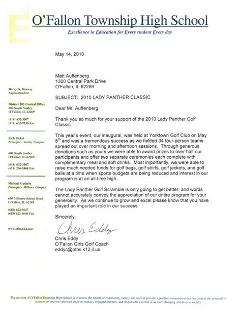 Letter To Fallon