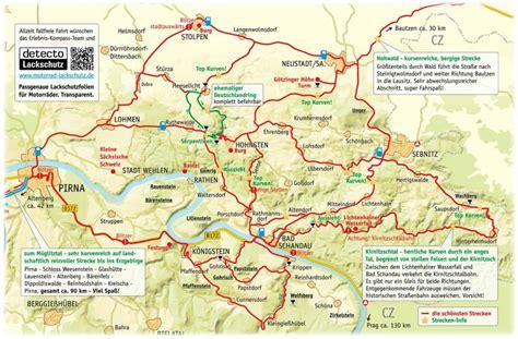 Motorradtouren Durch Ostdeutschland by Motorradtouren Erlebnis Kompass S 228 Chsische Schweiz