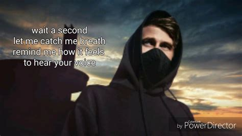 Cp Alan Walker by Alan Walker Sing Me To Sleep Lyrics