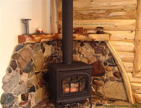 superb Fireplace Mantels Shelves Designs #7: Naturewoods-cedar-mantel.jpg