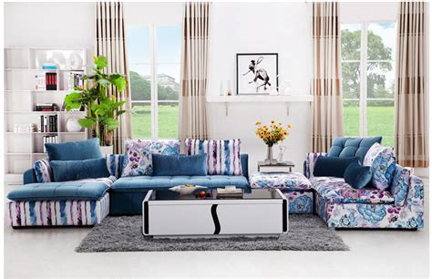 u best fabric sofa combination modern simple fashion