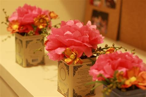 How To Make Paper Flowers For Wedding Decorations - diy centerpiece ideas toledo wedding planner