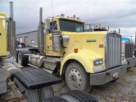 w900b kenworth trucks for sale 1998 kenworth w900b day cab truck for sale 850 000 miles