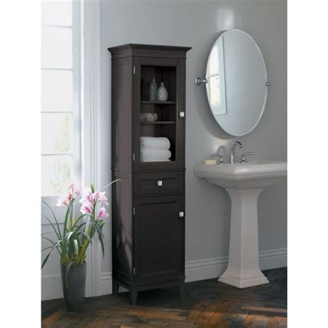 bathroom armoire cabinets bathroom cabinets fieldcrest armoire espresso