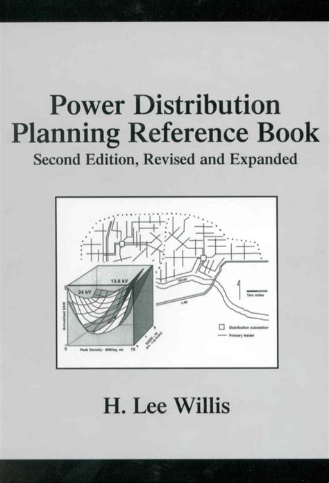 electric power distribution reliability second edition power engineering willis books power distribution planning reference book second edition