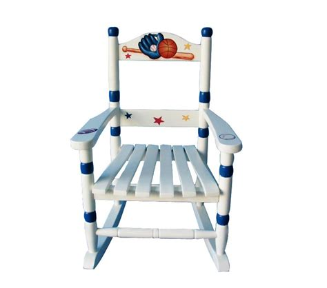 Chairs For Boys by Dreamfurniture Teamson Boys Rocking Chair Sports